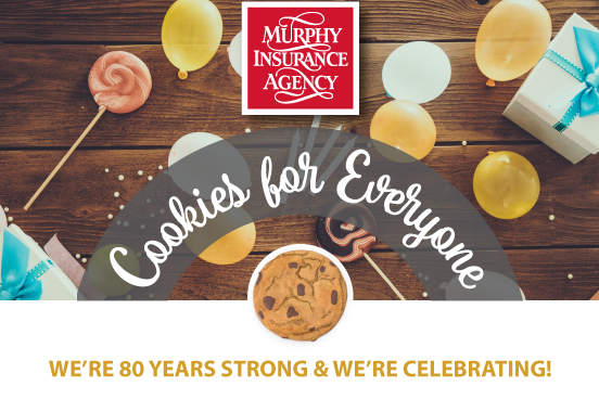 WE'RE 80 YEARS STRONG AND WE'RE CELBRATING