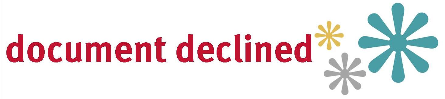 Docusign Document Declined